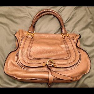 Chloe Large Marcie Leather Satchel